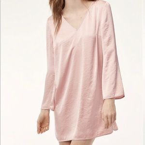 Little Moon Aritzia Satin Pink Dress